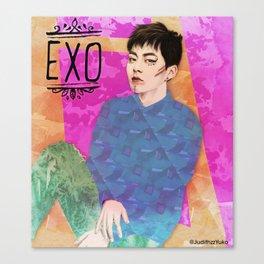 EXO -Xiumin- Canvas Print