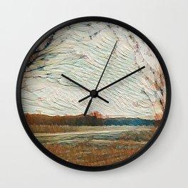"""Heartland Sunset"" Wall Clock"