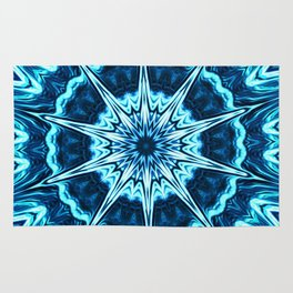 Psychedelic Blues Rug