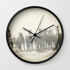 Band of Horses - White Wall Clock