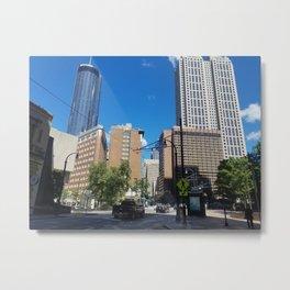 Downtown, Atlanta Metal Print