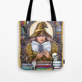 Good Reads Witch by Bobbie Berendson W. Tote Bag