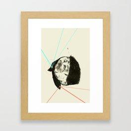 Lazer Minx  Framed Art Print