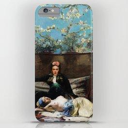 Oriental Lovers iPhone Case