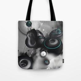 Time Circles Tote Bag
