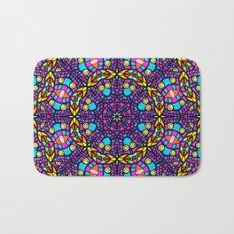 Arabesque kaleidoscopic Mosaic G519 Bath Mat