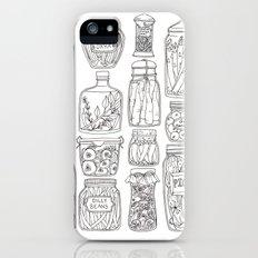 Pickles Print iPhone (5, 5s) Slim Case
