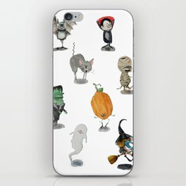 The Spooky Bunch iPhone Skin