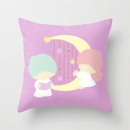 Little Twin Stars Throw Pillow