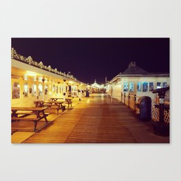 Old victorian Pier Canvas Print