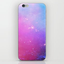 rainbow visor iPhone Skin