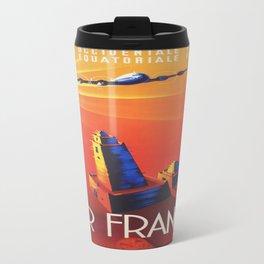 Vintage poster - Air France Travel Mug