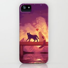 Forever Alone Together iPhone Case