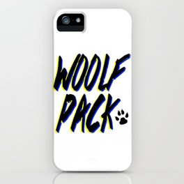 WOOLFPACK iPhone Case