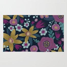 Moody Floral Rug