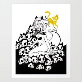 Inktober : Teeming Art Print