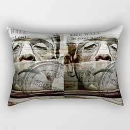 The wall in your head... Rectangular Pillow