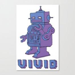 Roboto ロボト Canvas Print