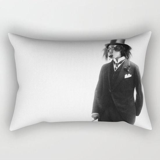 (Super) Distinguish Dog Rectangular Pillow