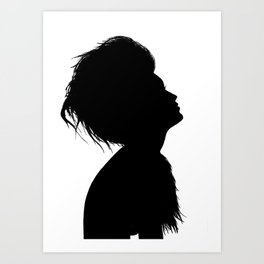 Siluette Art Print