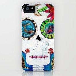 Maite´s skull iPhone Case