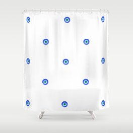 Evil Eye III Shower Curtain
