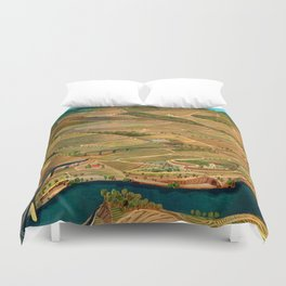 Douro Valley Portugal Duvet Cover