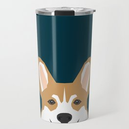 Teagan - Corgi Welsh Corgi gift phone case design for pet lovers and dog people Travel Mug