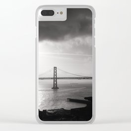 Sunrise at Bay Bridge Clear iPhone Case