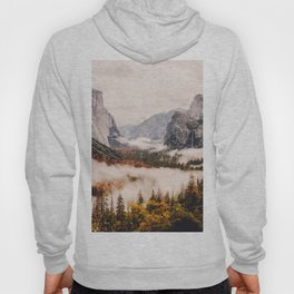 Amazing Yosemite California Forest Waterfall Canyon Hoody
