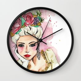 Print Maria Antonieta Wall Clock