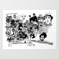 you spend your hole life trying to get high Art Print