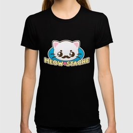 Meow-Stache T-shirt