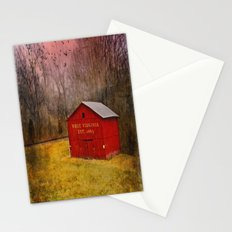 West Virginia Red Barn Stationery Cards