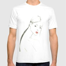 Japa Mens Fitted Tee SMALL White