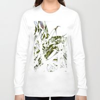 stark Long Sleeve T-shirts featuring Leaves - Stark by Boris Burakov