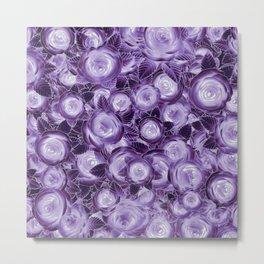 Purple Flush Metal Print