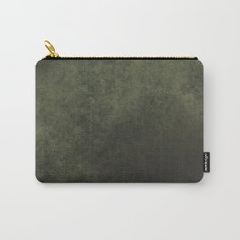 Old dark green Carry-All Pouch