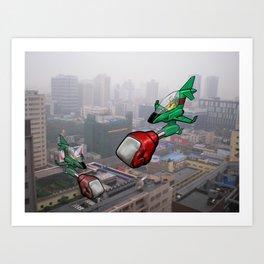 Chengdu Skies Art Print