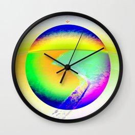 Iceberg A68 - Ultraviolet Wall Clock