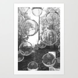 Pearly Visions I, The October Path. 2018. Art Print