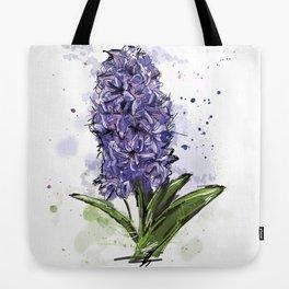 Hyacinth Tote Bag