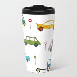 Large Cars Print Travel Mug