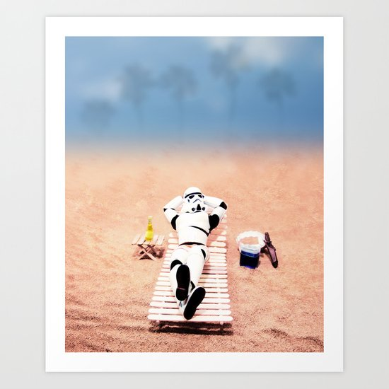 To hell with those droids (i'll keep searching later) Art Print