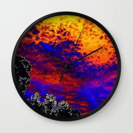 Sky of Color Wall Clock