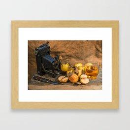 Agfa and Apples Framed Art Print