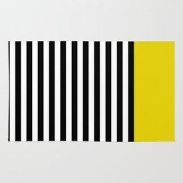 Liquorice allsorts, yellow Rug