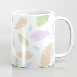 Feather explosion Coffee Mug