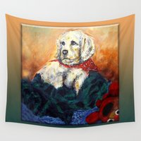 sassy Wall Tapestries featuring Sassy Girl by Thom Lupari