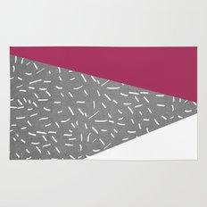 Concrete & Lines Rug